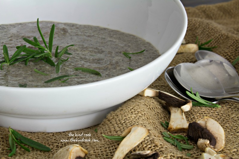Mushroom and Rosemary Soup wm