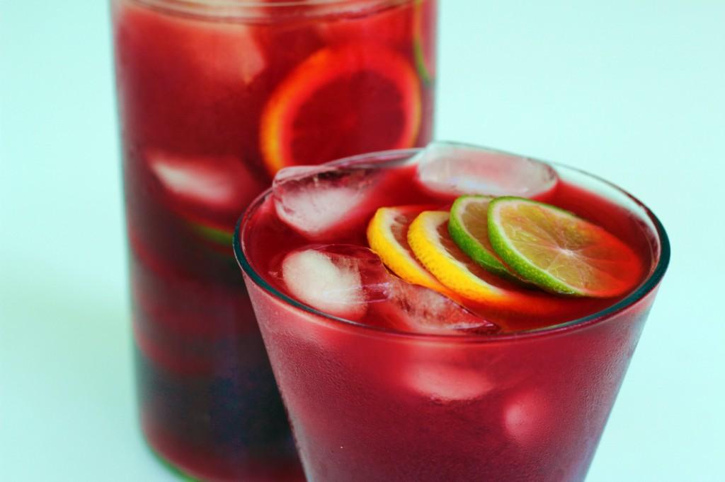 Pomegranate Citrus Iced Tea - The Kind Cook