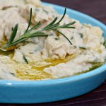 Rosemary, Garlic & Bean Dip