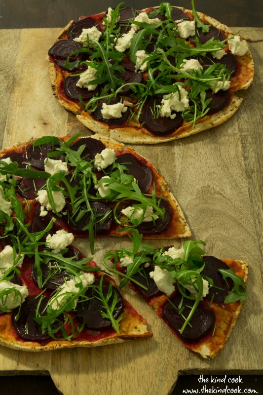 Beetroot Pizza wm
