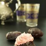 Medjool Dates with Rosewater Cashew Cream